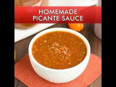 Homemade Picante Sauce - Chili Pepper Madness
