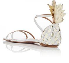 Aquazzura - Pina Colada Flat Sandals