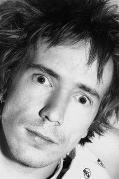 John Lydon by Marcia Resnick