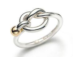 Tiffany dichroic wedding ring of love