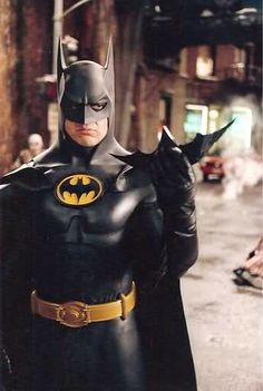 Batman.. Michael Keaton, my forever hero
