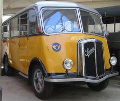 Post Bus, Vans, Bus Coach, Old Trucks, Public Transport, Coaches, Motorhome, Motor Car, Military Vehicles