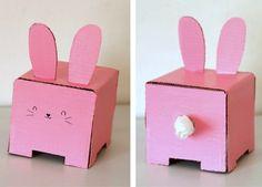 porta panuelos conejo
