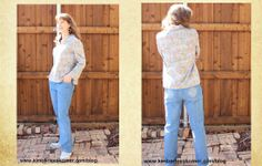 Jeans sewn by Kimberlee from Kimberlees Korner Sewing Jeans, Sewing Projects, Challenges, Tops, Women, Fashion, Moda, Fashion Styles, Fashion Illustrations