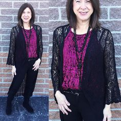 The velvet train is here & it's time to jump on just in time for #NYE! This velvet halter top is adorable for all ages. For the moms pair it with a duster (like Pam did!) or with a jacket and your ponte knit pants! And for the younger girls wear it as is with either a sequin skirt or leather pants! So cute! #shopamelias