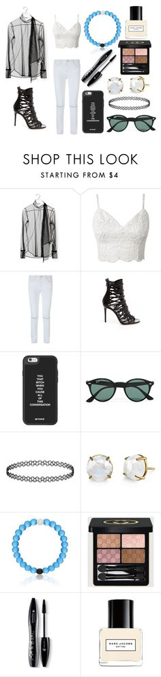 """Sin título #2696"" by onedirection-h1n1l2z1 on Polyvore featuring moda, Valentino, Rebecca Minkoff, Ray-Ban, Gucci, Lancôme y Marc Jacobs"