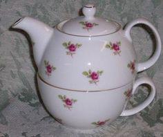 Dot Rose Tea For One