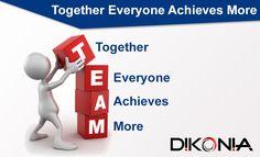 Talent wins games, but teamwork and intelligence win championships -Michael Jordan #MondayMotivation#TeamWorkQuotes#DikoniaQuotes