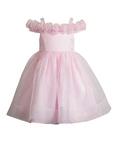 Another great find on #zulily! Kleinfeld Pink Pink Emily Dress - Toddler & Girls by Kleinfeld Pink #zulilyfinds