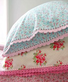 spring pillowcases... by rose hip..., via Flickr