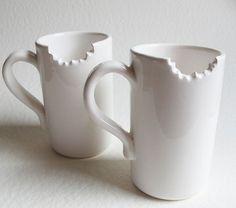 mug original creative bitten 24 cups and mugs original mug photo mug image coffee . Hot Coffee, Coffee Cups, Coffee Art, Cool Mugs, Cup Design, Coffee Design, My Cup Of Tea, Ceramic Cups, Tea Mugs