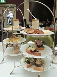 the balmoral edinburgh gluten free afternoon tea cake stand scotland