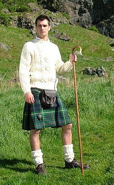 Men's christmas kilt | ... Kilt Outfits Kilts Casual 5 Yard Tartan Kilts Bespoke Casual Kilt by