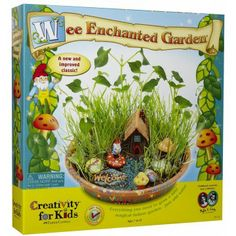 Wee Enchanted Garden Kit - Encourage your young botanist to create their own fantasy garden with this creative and fun project kit.