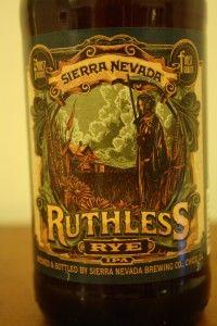Sierra Nevada Ruthless Rye IPA #beer