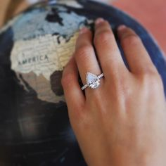 Kirk Kara engagement ring
