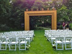 Frame yard ceremony - June