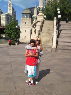 Me and Dominick in Chicago