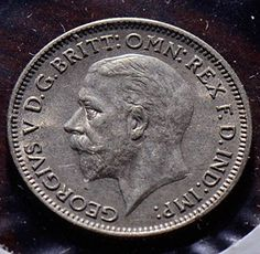 1936 Uk X0102 Great Britain 6 Pence Vintage De Po-01 http://amzn.to/1XgN3S8