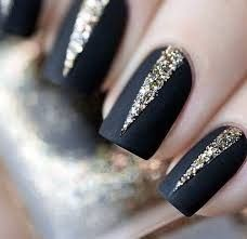 In seek out some nail designs and ideas for your nails? Here is our list of 28 must-try coffin acrylic nails for stylish women. Elegant Nail Designs, Black Nail Designs, Beautiful Nail Designs, Beautiful Nail Art, Nail Art Designs, Cobalt Blue Nails, Black Nails With Glitter, Matte Black Nails, Gold Glitter
