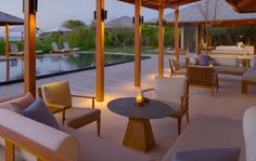 Find the right accommodation for your stay at Amanyara. Offering 545 square metres(5,866 square feet) of living space, the Book your stay with Aman today.