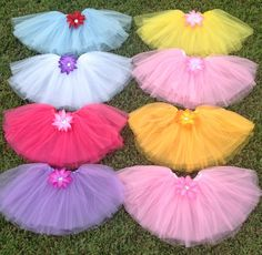 8 My Little Pony Party Favors Tutus My Little by partiesandfun, $64.00