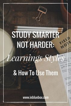 Study Smarter Not Harder: Learning Styles And Why We Should Know Them? {Hilfe im… Study Smarter Not Harder: Learning Styles And Why We Should Know Them? {Hilfe im Studium E Learning, Learning Styles, University Organization, College Organization, Study Smarter Not Harder, Lerntyp Test, Study Techniques, School Study Tips, School Tips