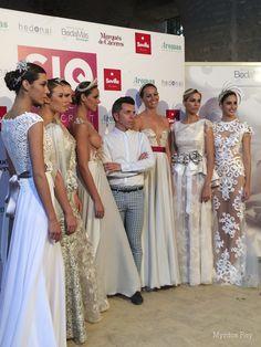 #desfile #monasteriosanjeronimo #sevilla #SIQHandcraft&Fashion #photocall #AlejandroPostigo #novia #moda #bordados #transparencias #plata #blanco #AgenciaDobleErre #RaquelRevuelta