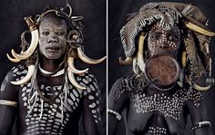 Stunning Portraits Of The World's Remotest Tribes Before They Pass Away (46 pics) | Bored Panda Mursi, Ethiopia