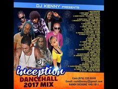 DJ KENNY INCEPTION DANCEHALL MIX 2K17 Busy Signal, Reggae, Dj, Promotion, Cards, Maps, Playing Cards