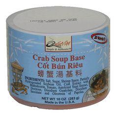 Quoc Viet Foods Crab Flavored Soup Base, 10 oz
