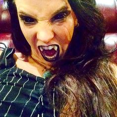 Will you be my dinner tonight? #vampire #mydatewithavampire #vampirelife #vampirediaries #vampireweekend #vamplife #fangs #creatureofthenight #creature #darkness #trinamasonphotography #wolfsmuseumofmystery #odd #oddball #carnival #juggalo #juggalette #behindthepaint #dedicatedtothebutterfly #saintaugustine #horror #scary #horrorgirl #vampiregirl #goth #gothic #trinachristinemason #trinamason by trinamason