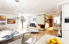 Projekt domu Jak marzenie 88,53 m2 - koszt budowy 83 tys. zł - EXTRADOM Corner Desk, Cabinet, Storage, Bed, Interior, Furniture, Home Decor, Projects, Clothes Stand
