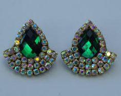 Imagen relacionada Thread Jewellery, Soutache Earrings, Silk Thread, Beadwork, Indiana, Diy Jewelry, Swarovski, Embroidery, Beads