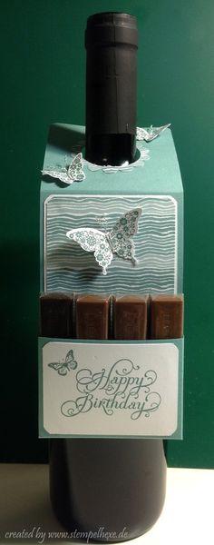 Anleitung stempelhexe stampin flaschenanhänger