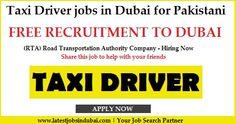Taxi Driver jobs in Dubai for Pakistani. One of the reputable Road & Transportation Authority Company RTA is hiring candidates for Taxi Driver jobs. It is a commission base job.