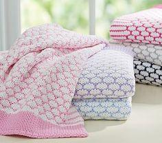 Honeycomb Stroller Blanket | Pottery Barn Kids