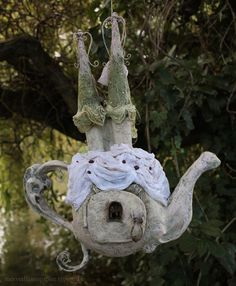 **Fairy House teapot