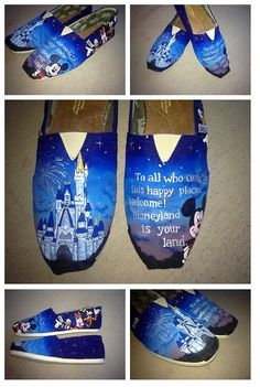 Someone painted these to be together apparently. If you don't know why this is maddening, you're not a real Disney fan.
