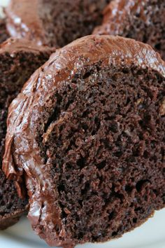 Chocolate Lover's Zucchini Cake - Oh my goodness! This looks so good! Try this recipe and/or add the cocoa and frosting to your regular recipe.
