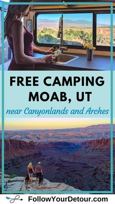 One of the top boondocking, or free camping spots in Moab is Potash Road. This video will make you want to plan your road trip there today. We had epic views just steps from our front door, peace and quiet and lots of space. If you are a full-time RVer, o Utah Camping, Camping Places, Camping Spots, Places To Travel, Camping List, Camping Ideas, Travel Destinations, Camping Supplies, Camping Stuff