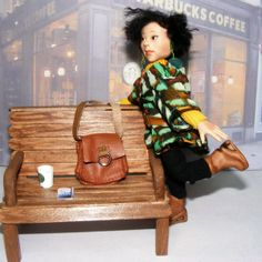 "Ooak artist original Asian doll, ""Aiko"" by The Rogue Fairy."
