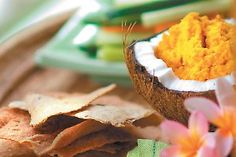 Spicy Carrot Dip - recipe from the beautiful Gwinganna Lifestyle retreat in Queensland Australia. Garden to Gourmet | Australian Natural Health Magazine