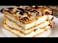 Торт «Эклер». Рецепт стильной выпечки!