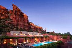 20 Of The Coolest Spas In The States  Best for the open-minded: Mii amo, Sedona, Arizona   Two things immediately come to mind when you think Sedona: red-rock formations and a New-Age vibe. Both play a role at Mii amo, where services focus just as much on energy healing as they do on pampering. Think: stargazing sessions, chakra yoga, vortex walks, psychic massage, and aura photography.   It might sound a bit woo-woo to the uninitiated, ...