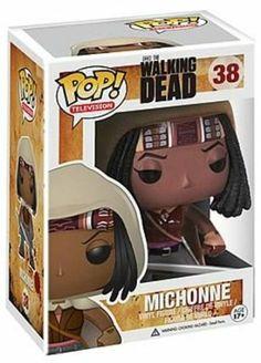 Funko - The Walking Dead, Michonne figura de vinilo, 10 cm (FUNVPOP3085): Amazon.es: Juguetes y juegos