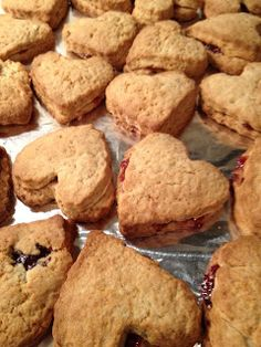 The Full Plate Blog: jam-filled scones