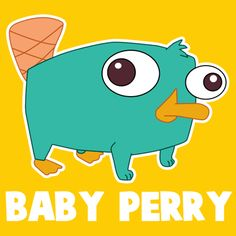 Step 400x400 baby perry the platypus How to Draw Baby Perry the Platypus from Phineas and Ferb