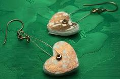 handmade paper earrings - Google Search