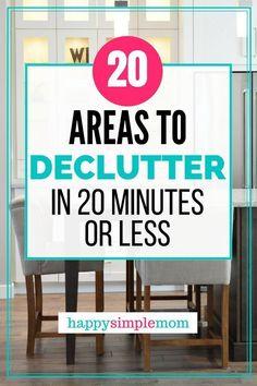 Decluttering ideas t